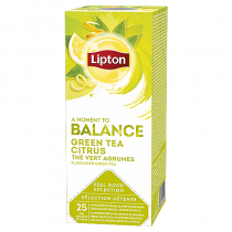 Te Lipton Green Tea Citrus 25/fp