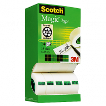 Dokumenttejp Scotch Magic 33mx19mm 14/fp